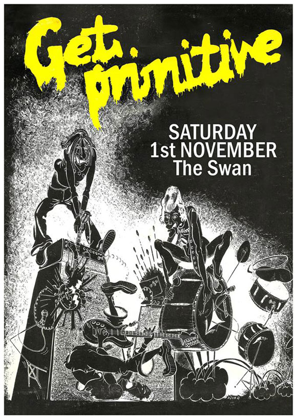 Get Primitive @ The Swan, Ipswich, Saturday November 1, 2014!