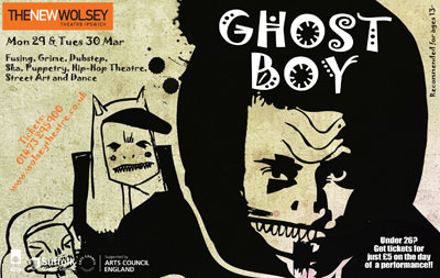 GHOST BOY @ The New Wolsey Theatre, Ipswich