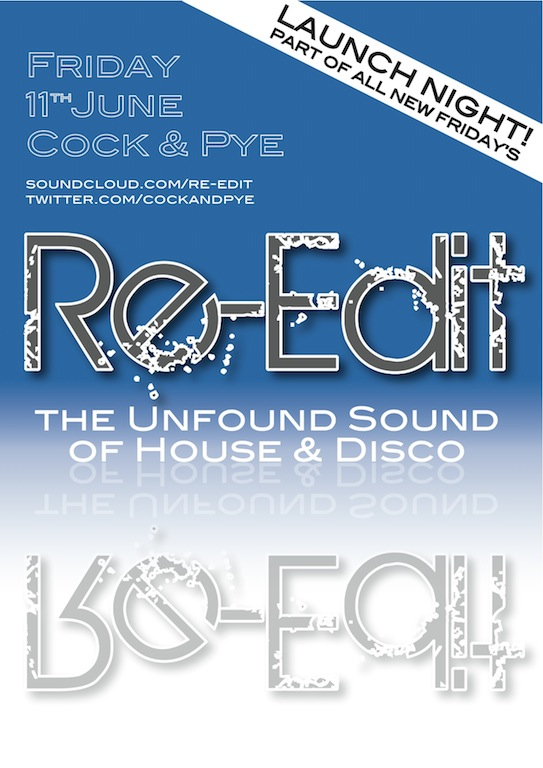 Re-Edit: Disco, Funk + House this Friday!
