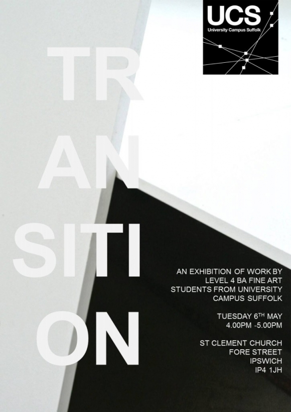 Transition exhibition @ St Clement's Church, Ipswich, May 6!