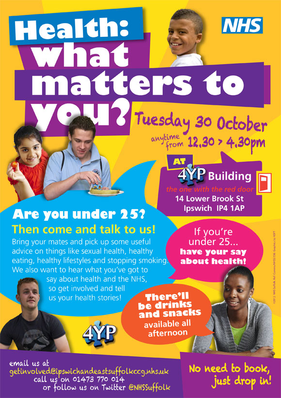 Young people of Suffolk, the NHS needs YOU!