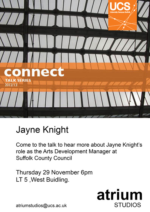 FREE: Connect Talk Series @ Atrium Studios, Ipswich, Nov 29 & Jan 31!