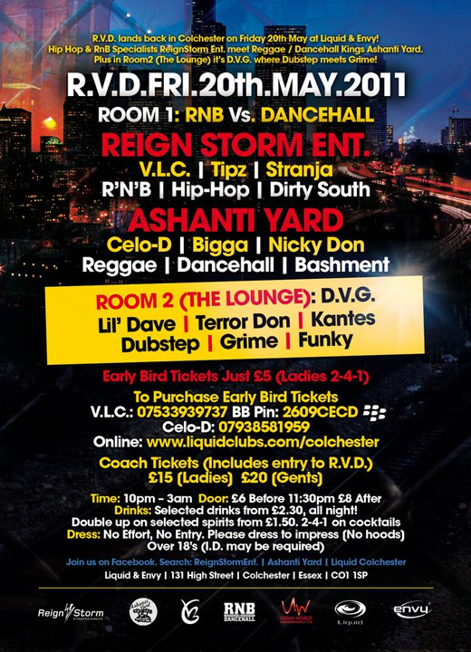 RNB VS DANCEHALL 12 back