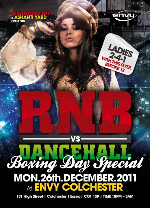 RNB VS DANCEHALL [Boxing Day Special]