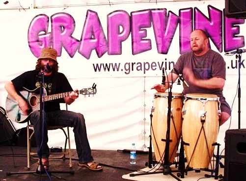 on the Grapevine stage, Ips Music in the Park, 2009