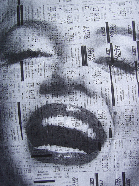 Marilyn/Cinema Ticket Picture (close up)