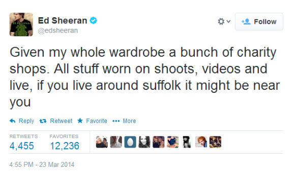 Ed_Sheeran_Charity_shops_tweet