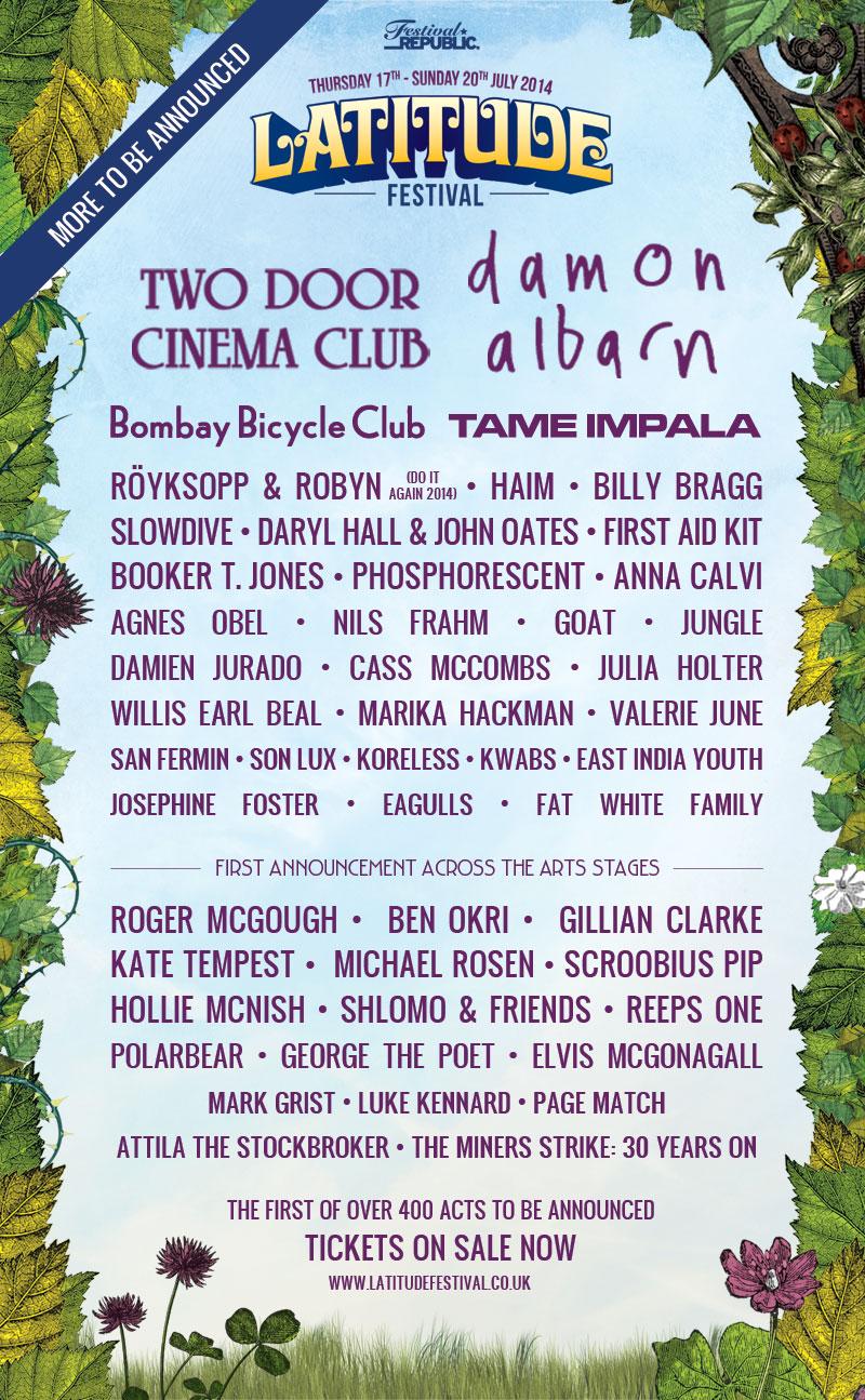 Latitude festival line-up