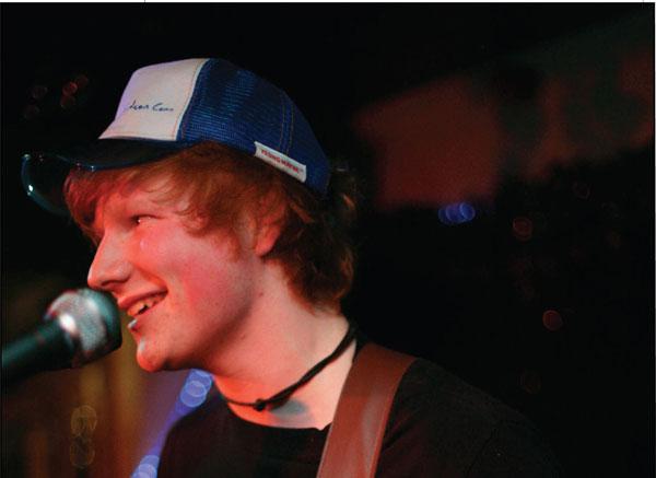 Ed Sheeran interview IP1 magazine February 2009, Ipswich, Photography by Jen O'Neill