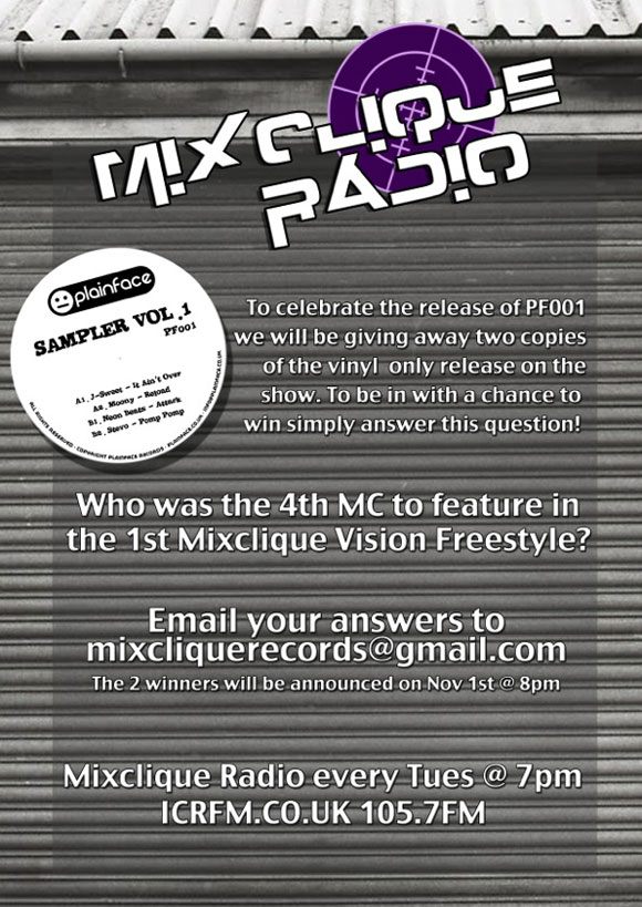 Mixclique Radio Competition