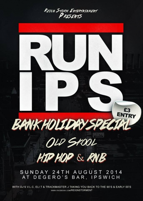 RUN IPS BANK HOLIDAY SPECIAL