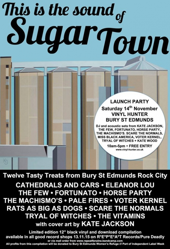 "This Is The Sound Of Sugar Town 12"" album launch party @ Vinyl Hunter, Bury St Edmunds"