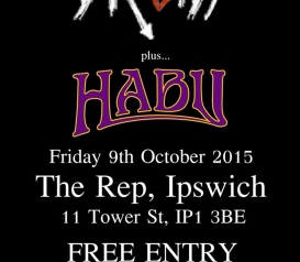 Druids + Habu at The Rep Friday 9th October - FREE ENTRY