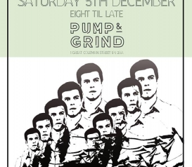 TOM RAVENSCROFT (BBC 6 MUSIC) at PUMP & GRIND Saturday 5th December