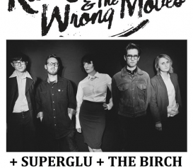 Kate Jackson and the Wrong Moves / SuperGlu / The Birch / Beyond Revolutions @ The Hunter Club
