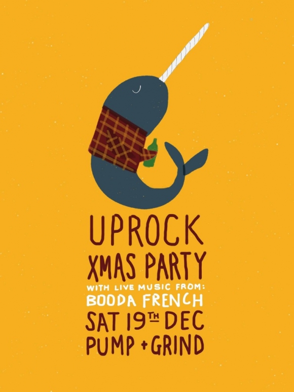 Uprock Xmas Party - 19th Dec - Pump & Grind