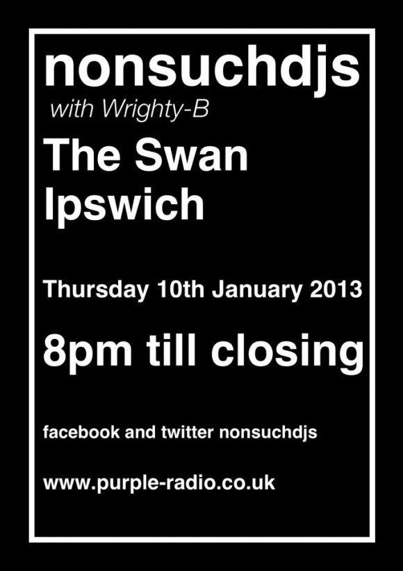 FREE: nonsuchdjs @ The Swan - Thurs 10/1/2013