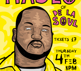 MASEO of DE LA SOUL @ PUMP & GRIND
