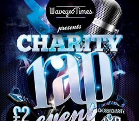 WaveyxTimes presents Charity Rap Event