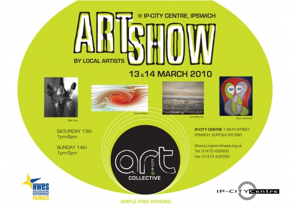 Art Collective @ IP-City Centre, Ipswich, March 13 & 14!!
