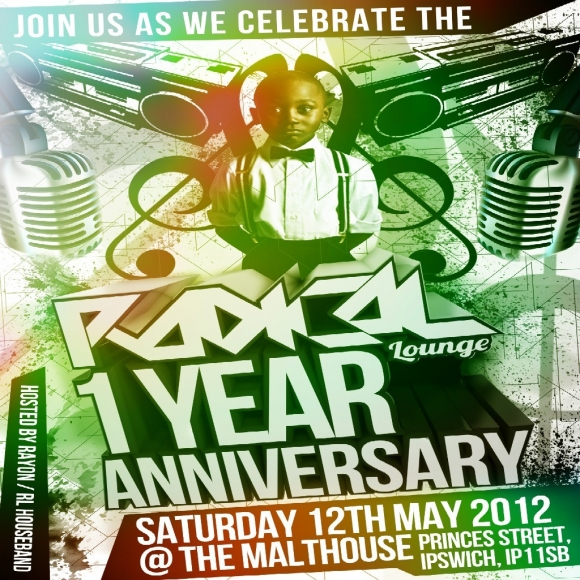 RADICAL LOUNGE 1 YEAR ANNIVERSRY