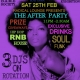 Radical Lounge + The After Party @ Kai Bar, Ipswich, Feb 25!