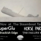 SuperGlu + Horse Party + The Brackish Edge + The Failure Men Saturday 14th November at The Steamboat
