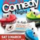 Under 18s Comedy Night @ New Wolsey Theatre, Ipswich, Mar 3!