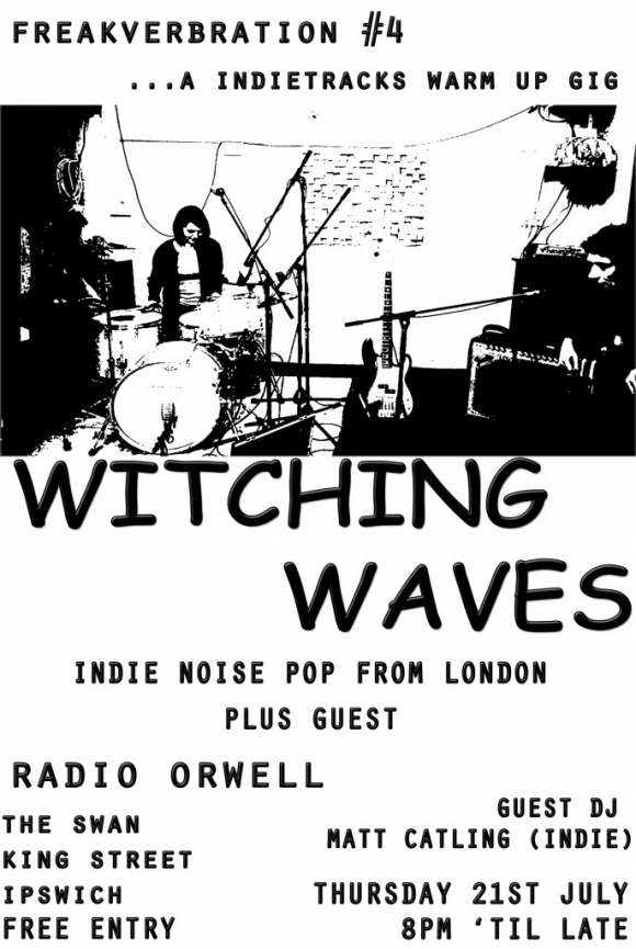 Witching Waves and Radio Orwell This Thursday at The Swan, ipswich