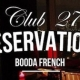 Free Download: Booda French - Club 27 Reservations EP