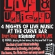 Live & Unsigned at Curve Bar, Ipswich this Friday!