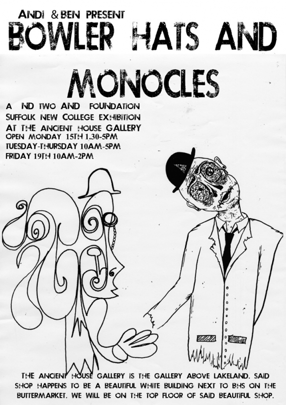 Bowler Hats and Monocles Exhibition