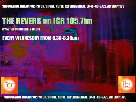 Shoegaze radio every wednesday on ipswich community radio