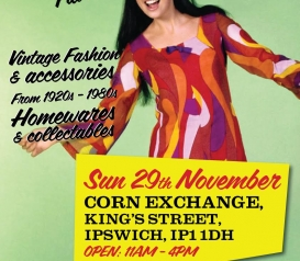 Judy's Returns to Ipswich for another Vintage Fair!