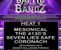 Battle Of The Bandz 2014 Heat 1