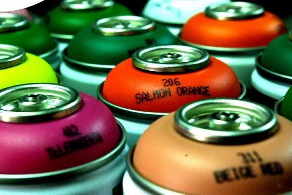 Graffiti cans