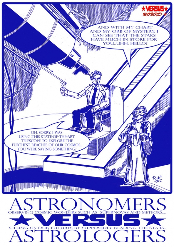 Astronomers Versus Astrologers