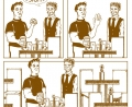 Bartenders Versus Drunks: The Comic Strip