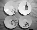 ANimal Houses saucers