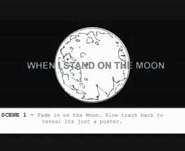 When I Stand On The Moon - Storyboards